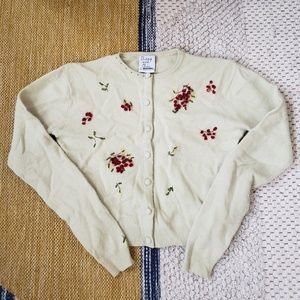 Moschino Cheap and Chic Vintage Cropped Cardigan S